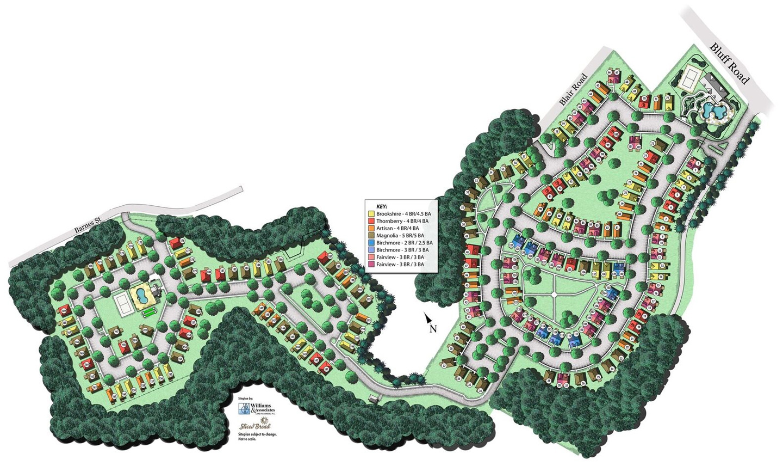 Retreat at Columbia Site Plan